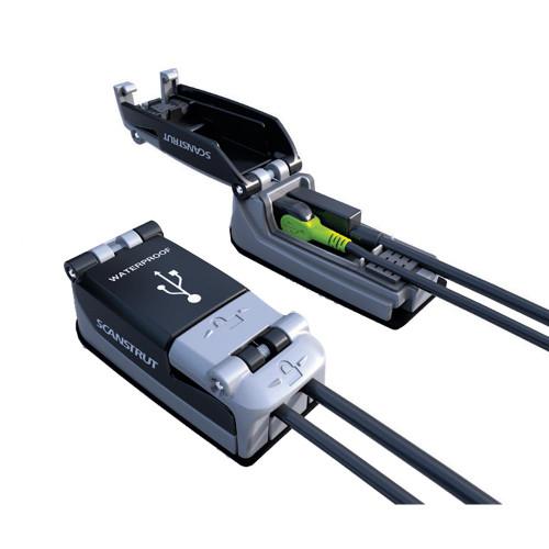 Scanstrut ROKK Charge+ Rapid Charge Waterproof USB Socket