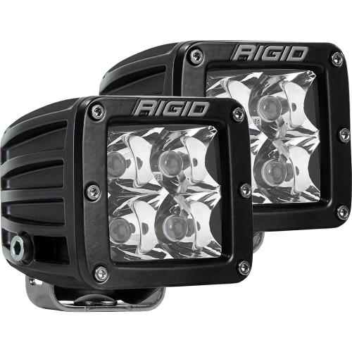 Rigid Industries D-Series PRO Hybrid-Spot LED - Pair - Black
