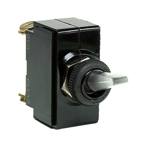 Cole Hersee Illuminated Toggle Switch SPST On-Off 4 Screw