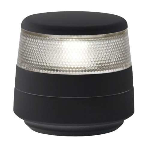 Hella Marine NaviLED 360 Compact All Round White Navigation Lamp - 2nm - Fixed Mount - Black Base