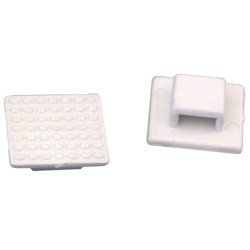 Weld Mount AT-3 Small White Nylon Wire Tie Mount - Qty. 30