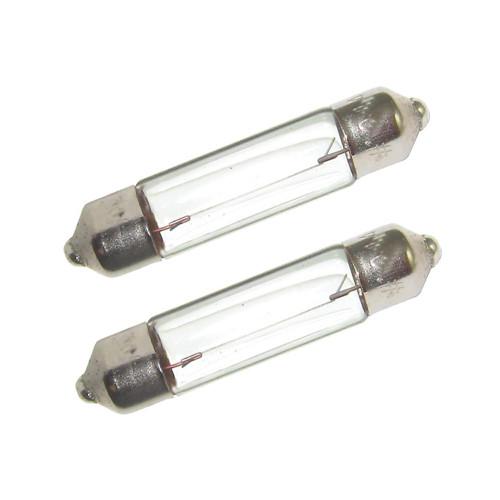 Perko Double Ended Festoon Bulbs - 12V, 10W, .80A - Pair