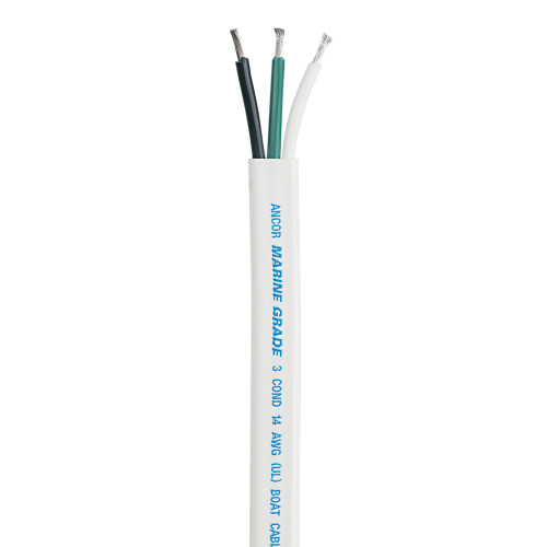 Ancor Triplex Cable - 14/3 AWG - 100'
