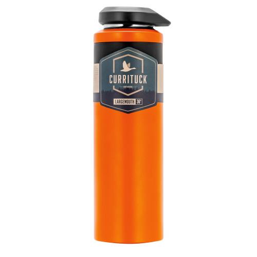 Camco Currituck Wide Mouth Beverage Bottle - 36oz - Orange