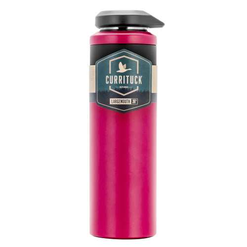 Camco Currituck Wide Mouth Beverage Bottle - 36oz - Raspberry