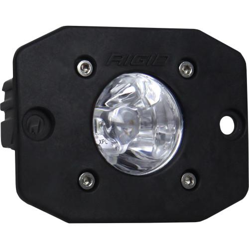 Rigid Industries Ignite Flush Mount Spot - Single - Black