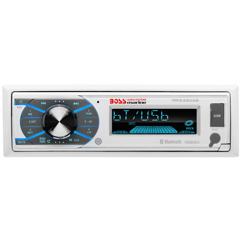 Boss Audio MR632UAB Single-DIN Multimedia Player USB\/SD\/MP3\/WMA\/AM\/FM w\/ Bluetooth