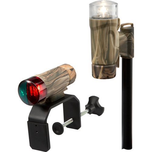 Attwood Clamp-On Portable LED Light Kit - RealTree Max-4 Camo