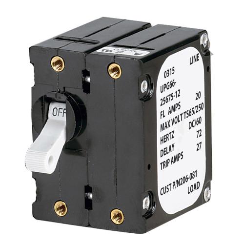 Paneltronics 'A' Frame Magnetic Circuit Breaker - 40 Amps - Double Pole