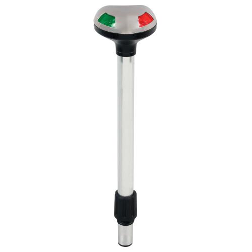 Perko Stealth Series LED Bi-Color 12 Pole Light - Small Threaded Collar - 2 Mile