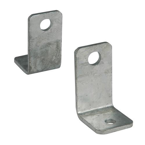 C.E. Smith Side Angle L Bracket - Pair - Galvanized