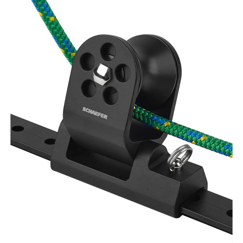 Schaefer Twin Sheet Block f/1-1/4 T-Track - Black