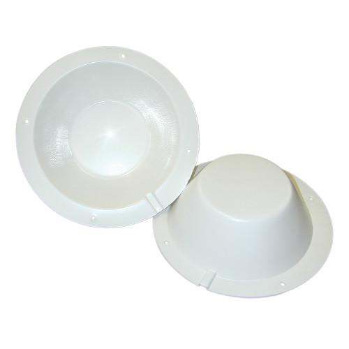 Poly-Planar 8-; Speaker Back Cover - White