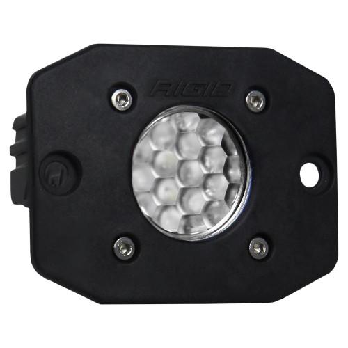 RIGID Industries Ignite Flush Mount Diffused - Single - Black