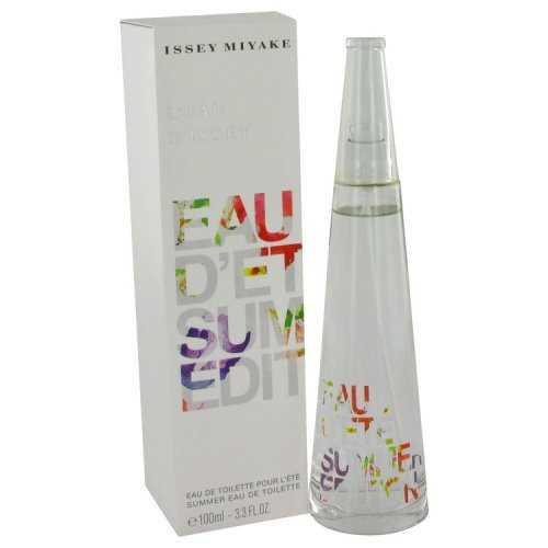 Issey Miyake Summer Fragrance By Issey Miyake Eau De Toilette Spray Alcohol Free 2007 3.3 Oz (pack  X662-FX15325