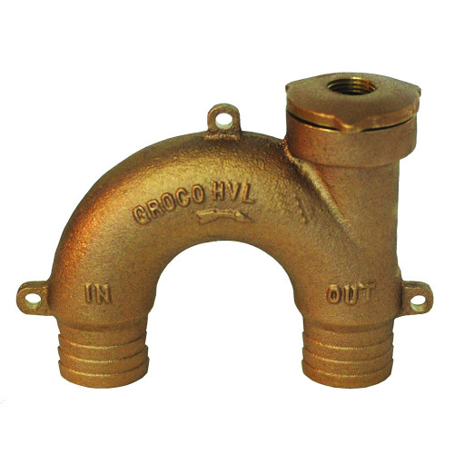 """GROCO Bronze Vented Loop - 1/2"""" Hose"""