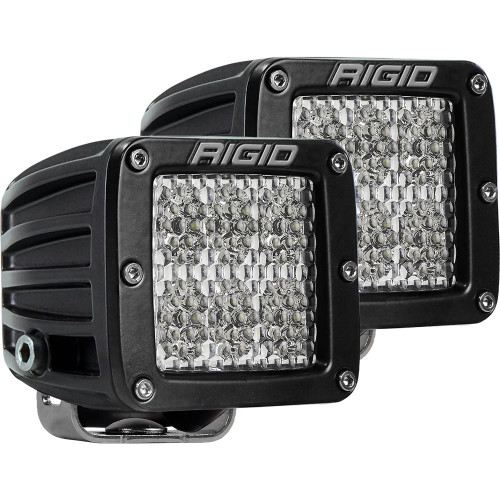 Rigid Industries D-Series PRO Specter-Diffused LED - Pair - Black