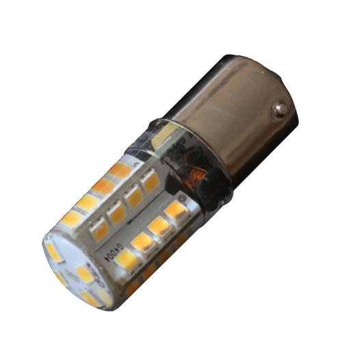 Lunasea BA15D Silicone Encapsulated LED Light Bulb - Cool White