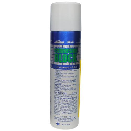 Corrosion Block 12oz Aerosol Can - Non-Hazmat, Non-Flammable & Non-Toxic *Case of 12*