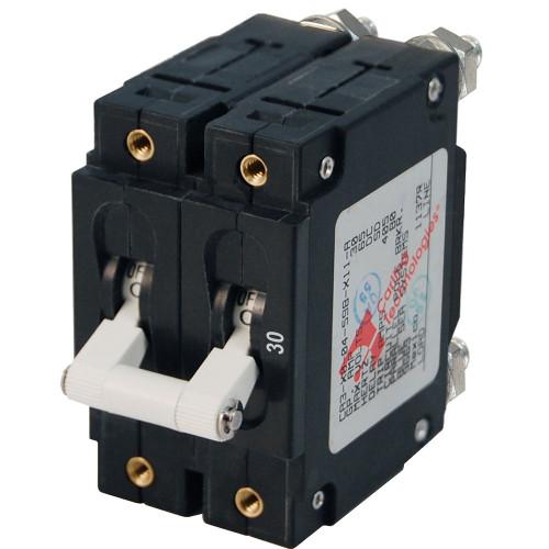 Blue Sea 7365 C-Series Double Pole Circuit Breaker - 30A