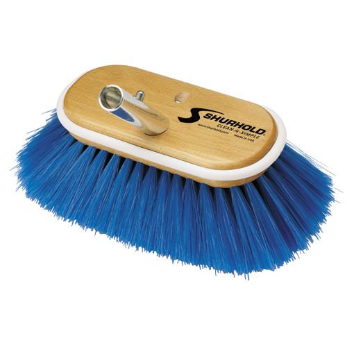 "Shurhold 6"" Nylon Extra Soft Bristles Deck Brush"