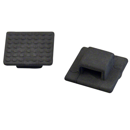Weld Mount AT-3B Small Black Nylon Wire Tie Mount - Qty. 50