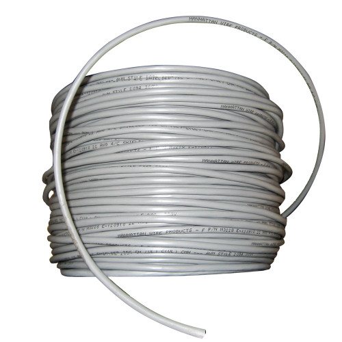 Cobra Wire 22/4 Shielded Comm Cable - NMEA 0183 - Cable By The Foot - Grey