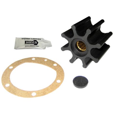 """Jabsco Impeller Kit - 8 Blade - Nitrile - 2-9/16"""" Diameter - Spline Drive"""