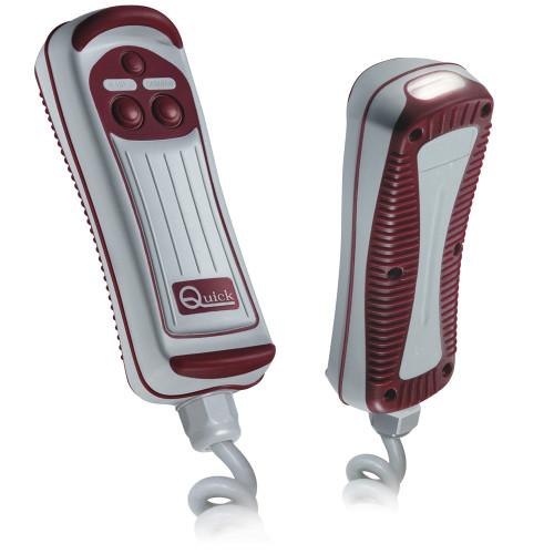 Quick HRC1002L 2-Button Remote w/LED Light