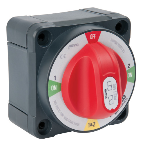 BEP Pro Installer 400A Selector Battery Switch - MC10