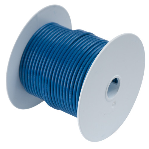 Ancor Dark Blue 18 AWG Tinned Copper Wire - 35'