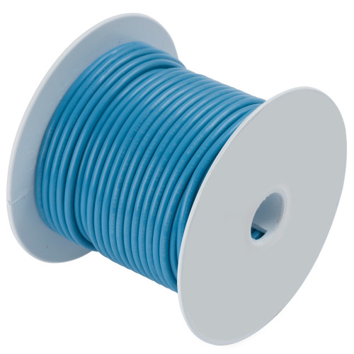 Ancor Light Blue 16 AWG Tinned Copper Wire - 100'