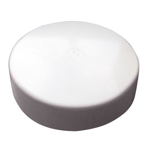 "Monarch White Flat Piling Cap - 13.5"""