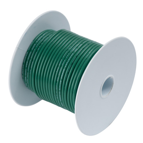 Ancor Green 8 AWG Tinned Copper Wire - 50'