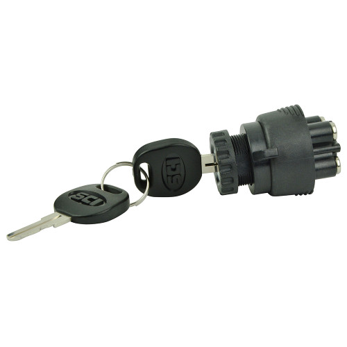 BEP 3-Position Ignition Switch - OFF/Ignition-Accessory/Start
