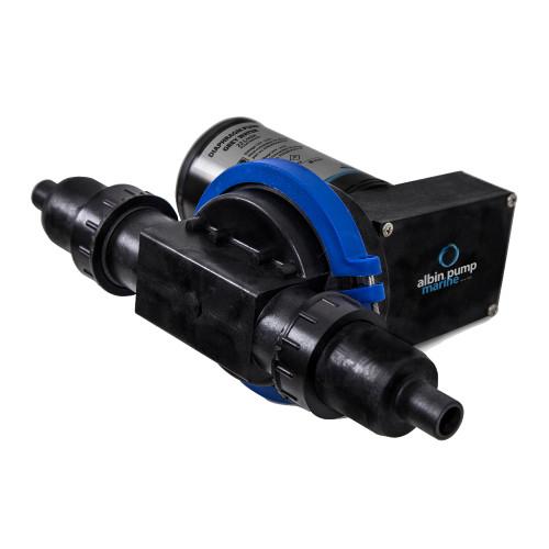Albin Pump Waste Water Diaphragm Pump - 22L(5.8GPM) - 24V