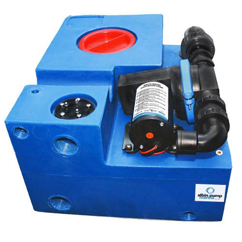 Albin Pump 19 Gallon (72L) Waste Water Tank CPL Diaphragm - 12V
