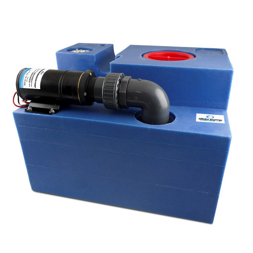 Albin Pump 19 Gallon (72L) Waste Water Tank CPL Macerator - 12V
