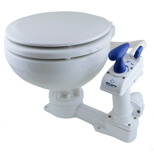 Albin Pump Marine Toilet Manual Compact Low