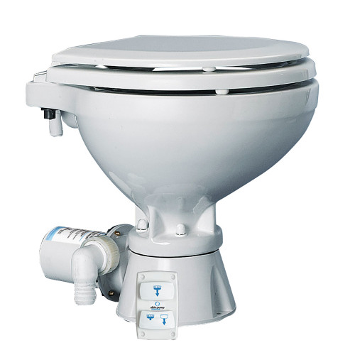 Albin Pump Marine Toilet Silent Electric Compact - 12V