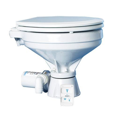 Albin Pump Marine Toilet Silent Electric Comfort - 12V