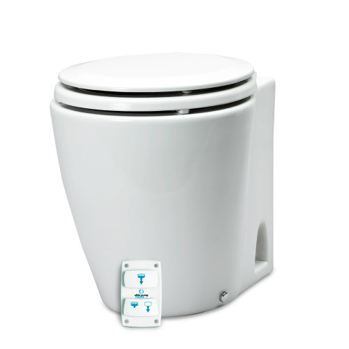 Albin Pump Marine Design Marine Toilet Electric Silent - 24V