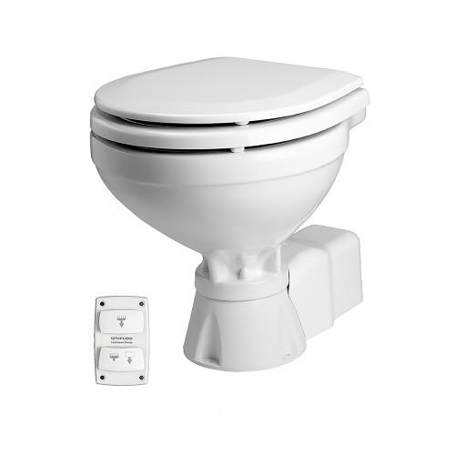 Johnson Pump Aqua T Toilet - Electric - Compact - 12V w/Solenoid