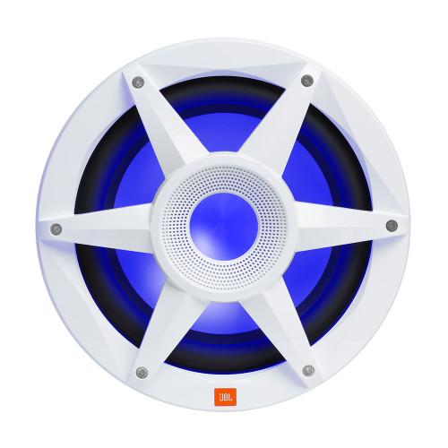 "JBL 10"" Marine RGB Passive Subwoofer - White Stadium Series"