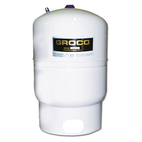 GROCO Pressure Storage Tank w/Pump Stand - 1.7 Gallon Drawdown
