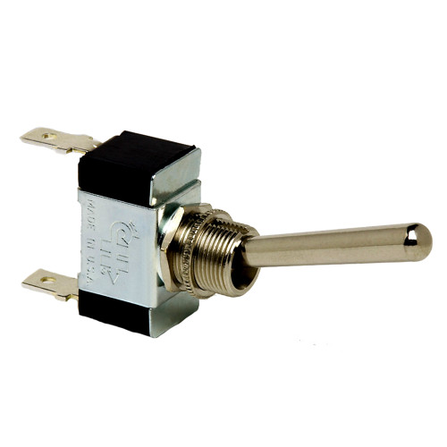 Cole Hersee Heavy-Duty Long Handle Toggle Switch SPST On-Off 2 Blade