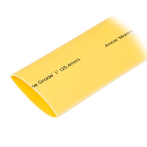 "Ancor Heat Shrink Tubing 1"" x 48"" - Yellow - 1 Pieces"