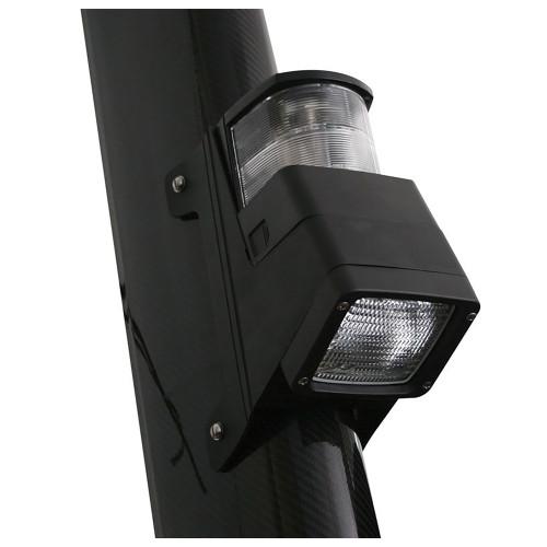 Hella Marine Halogen 8504 Series Masthead/Floodlight Lamp - Black