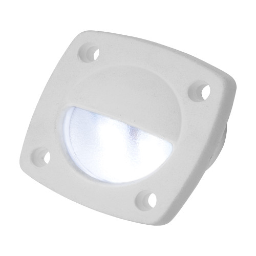 Sea-Dog LED Utility Light White w/White Faceplate