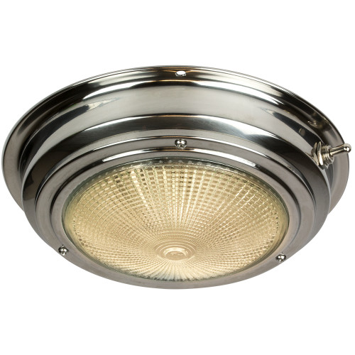 """Sea-Dog Stainless Steel Dome Light - 5"""" Lens"""
